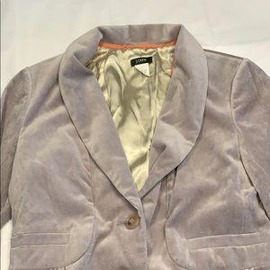 J. Crew Grey Blazer - never worn - Size 6